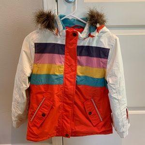Girls Boden Ski jacket waterproof- 9-10y, like new